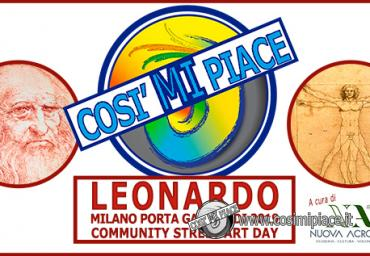 2019 LEONARDO COMMUNITY STREET ART DAY